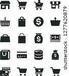 solid black vector icon set  ... | Shutterstock .eps vector #1277620879