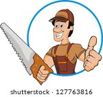 carpenter | Shutterstock .eps vector #127763816