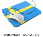 computer mouse with mouse pad... | Shutterstock . vector #1277650579