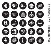 25 vector icon set   wi gloves  ...   Shutterstock .eps vector #1277650876