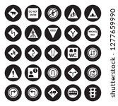 25 vector icon set   cattle ... | Shutterstock .eps vector #1277659990