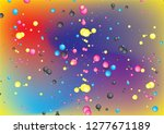 abstract cmyk bubble concept... | Shutterstock .eps vector #1277671189