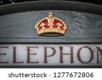 close up of a royal crown... | Shutterstock . vector #1277672806