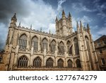 bath abbey  somerset  united... | Shutterstock . vector #1277674279