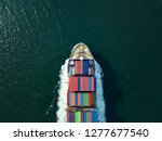 aerial top view from drone ... | Shutterstock . vector #1277677540
