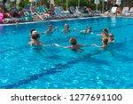alanya  turkey   october 05 ... | Shutterstock . vector #1277691100