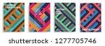 modern cover design template... | Shutterstock .eps vector #1277705746