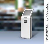 mockup payment information... | Shutterstock .eps vector #1277726239