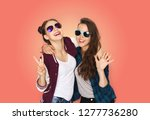 people  fashion and summer... | Shutterstock . vector #1277736280