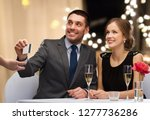 payment and and luxury concept  ... | Shutterstock . vector #1277736286