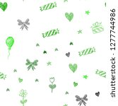 light green vector seamless... | Shutterstock .eps vector #1277744986