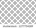 flower geometric pattern.... | Shutterstock .eps vector #1277754289