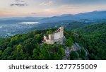 Chojnik Castle Aerial View