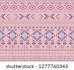 navajo american indian pattern... | Shutterstock .eps vector #1277760343