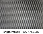 black iron speaker grid texture.... | Shutterstock . vector #1277767609