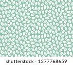 leaves pattern. endless... | Shutterstock .eps vector #1277768659