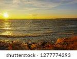 sunest at balaruc les bains... | Shutterstock . vector #1277774293