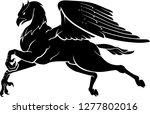 hippogriff fantasy beast | Shutterstock .eps vector #1277802016