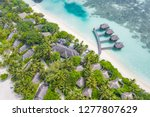aerial view of beautiful white... | Shutterstock . vector #1277807629