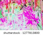 bright multi colored painting ... | Shutterstock . vector #1277813800