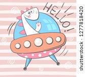 cute  cool  pretty  funny ... | Shutterstock .eps vector #1277818420
