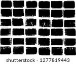 grunge post stamps collection ...   Shutterstock .eps vector #1277819443