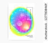 music fest. modern magazine... | Shutterstock .eps vector #1277838469