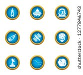 threat from space icons set.... | Shutterstock . vector #1277846743
