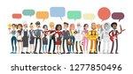 professions bubble speech.... | Shutterstock . vector #1277850496