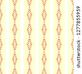 geometric ethnic violet... | Shutterstock . vector #1277855959