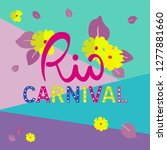 color background for rio... | Shutterstock .eps vector #1277881660