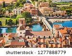 italian vacations. beautiful... | Shutterstock . vector #1277888779