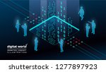 3d isometric concept... | Shutterstock .eps vector #1277897923