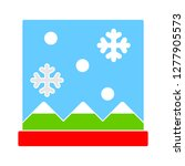 winter window icon   winter... | Shutterstock .eps vector #1277905573