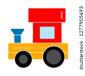 train toy icon  train toy... | Shutterstock .eps vector #1277905693