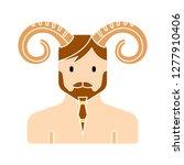 satyr vector icon   satyr... | Shutterstock .eps vector #1277910406