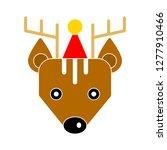 reindeer icon   reindeer... | Shutterstock .eps vector #1277910466