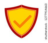 protection shield icon | Shutterstock .eps vector #1277914663