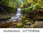 horseshoe falls in mount field... | Shutterstock . vector #1277918566