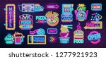 collection of symbols  signs or ... | Shutterstock .eps vector #1277921923