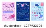 bundle of placard  flyer or... | Shutterstock .eps vector #1277922106