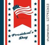 happy president day... | Shutterstock .eps vector #1277922613