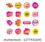 sale banner templates design.... | Shutterstock .eps vector #1277931640