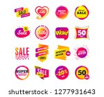 sale banner templates design....   Shutterstock .eps vector #1277931643