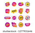 sale banner templates design.... | Shutterstock .eps vector #1277931646
