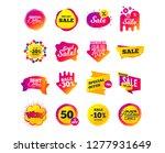 sale banner templates design.... | Shutterstock .eps vector #1277931649