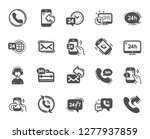processing icons. set of... | Shutterstock .eps vector #1277937859