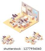 vector isometric corporate... | Shutterstock .eps vector #1277956060