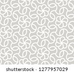 abstract simple geometric... | Shutterstock .eps vector #1277957029
