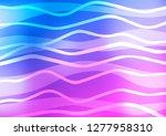 light pink  blue vector texture ... | Shutterstock .eps vector #1277958310